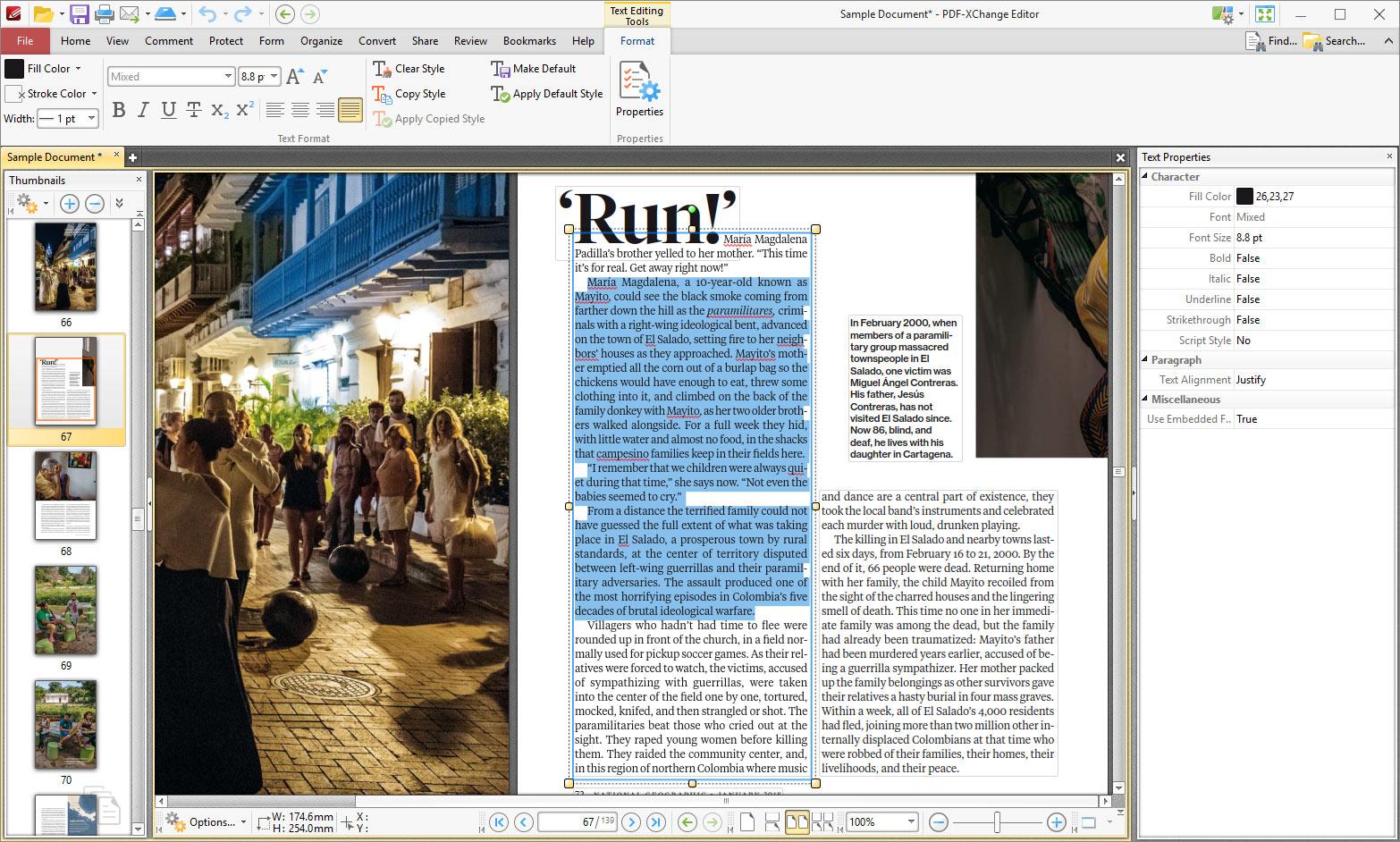 PDF-XChange PRO Screenshot