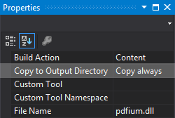 Pdfium.Net SDK, Development Tools Software Screenshot