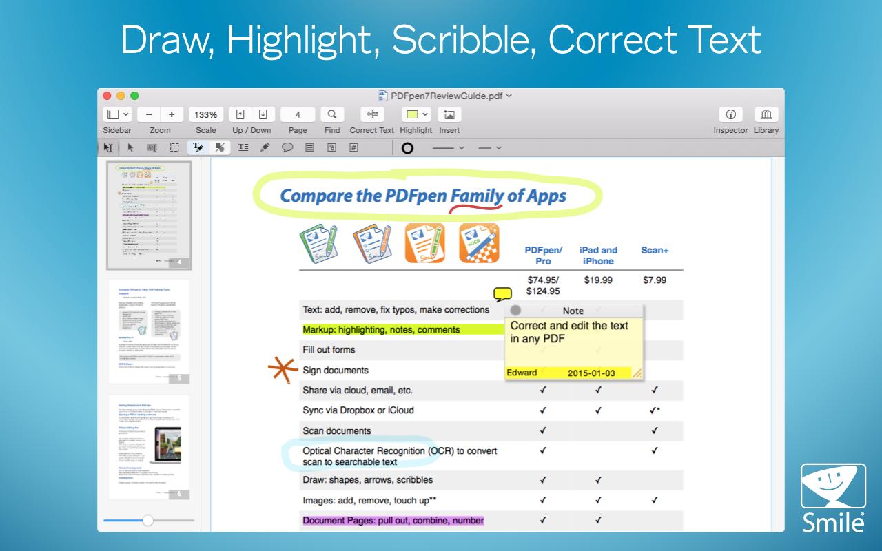 PDFPen Screenshot