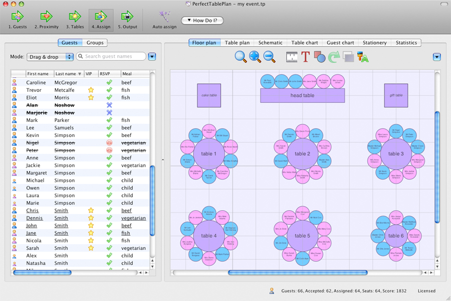 Organization Software Screenshot