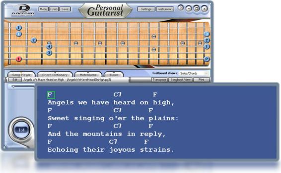 Personal Guitarist Screenshot