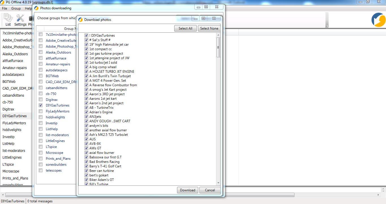 PG Offline 4 Photo, Internet Software Screenshot