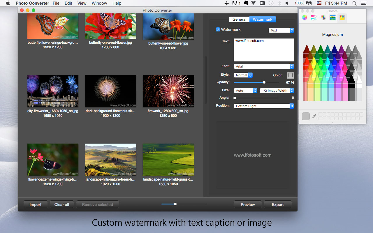 Design, Photo & Graphics Software, Photo Converter for Mac Screenshot