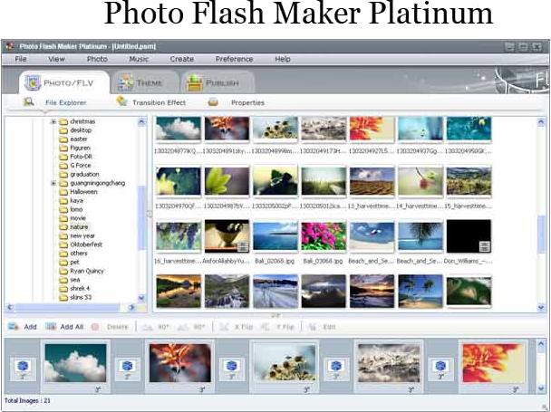 Photo Flash Maker Platinum + Photo DVD Maker Bundle Screenshot