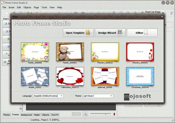 Photo Frame Software Screenshot