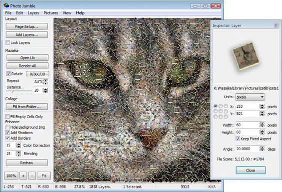 Design, Photo & Graphics Software, Photo Jumble Screenshot