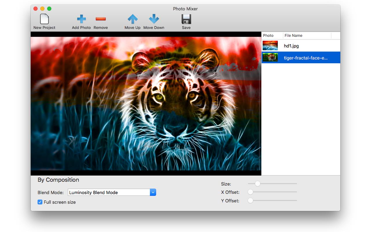 Photo Mixer Screenshot