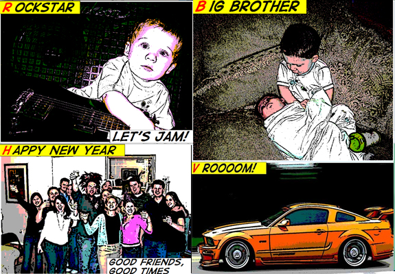 Kidware Comic Maker, Photo Manipulation Software Screenshot