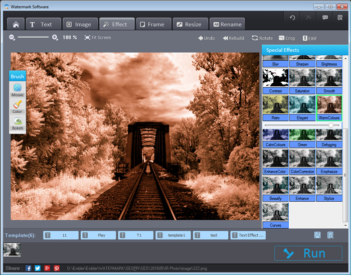 Photo Watermark Software, Design, Photo & Graphics Software Screenshot