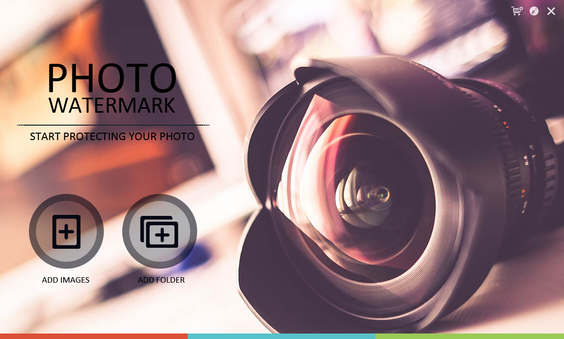 Photo Watermark Software Screenshot