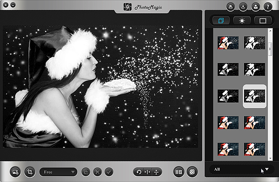 PhotoMagic, Photo Frame Software Screenshot