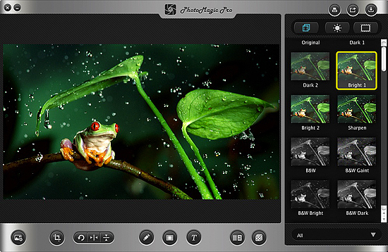 PhotoMagic, Design, Photo & Graphics Software, Photo Frame Software Screenshot