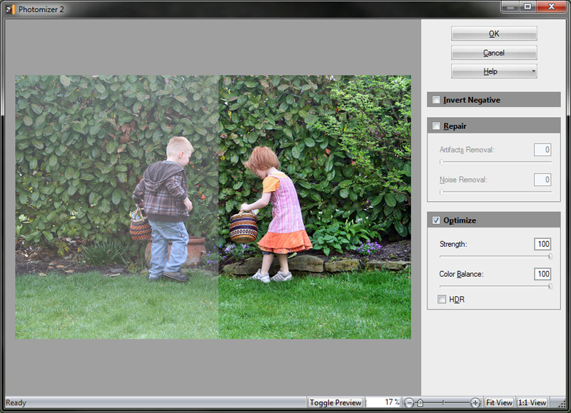 Photomizer 2 Plugin Screenshot