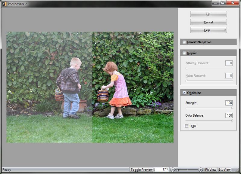 Photomizer 3 Plugin Screenshot
