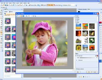 Photo Editing Software Screenshot