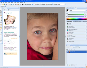 PhotoPlus Essentials, Photo Editing Software Screenshot