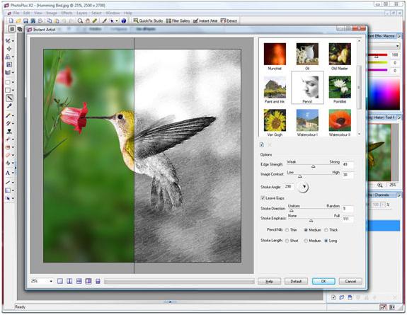 PhotoPlus, Photo Manipulation Software Screenshot