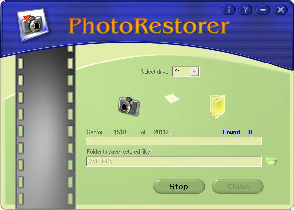 PhotoRestorer Screenshot