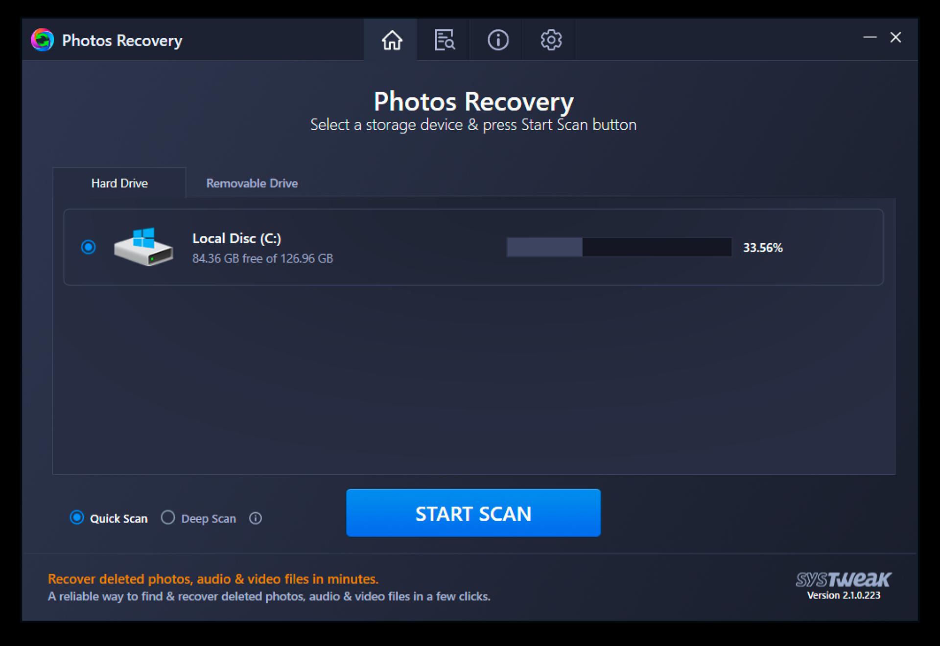 Photos Recovery Screenshot