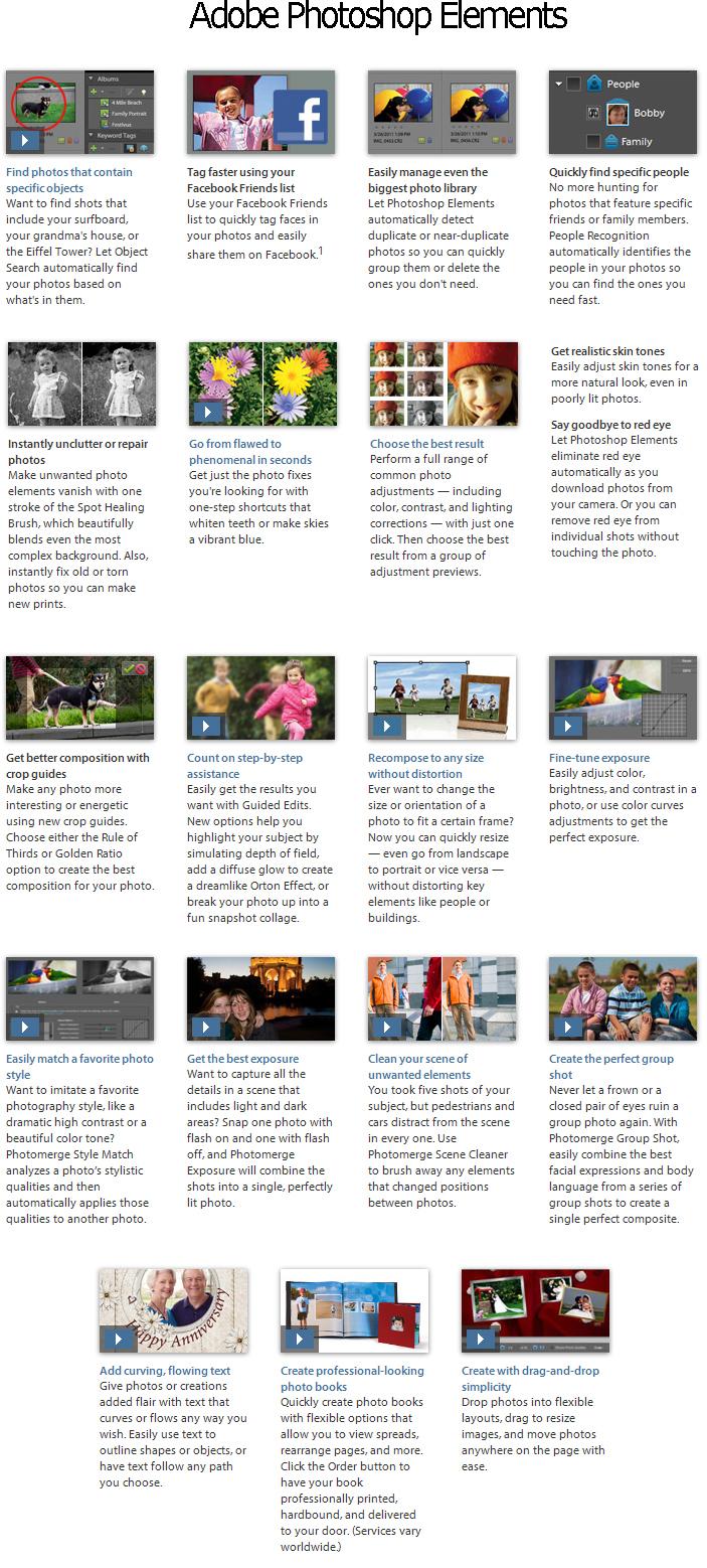Adobe Photoshop Elements 10 Screenshot