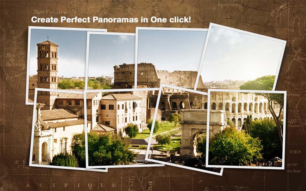 PhotoStitcher, Photo Editing Software Screenshot