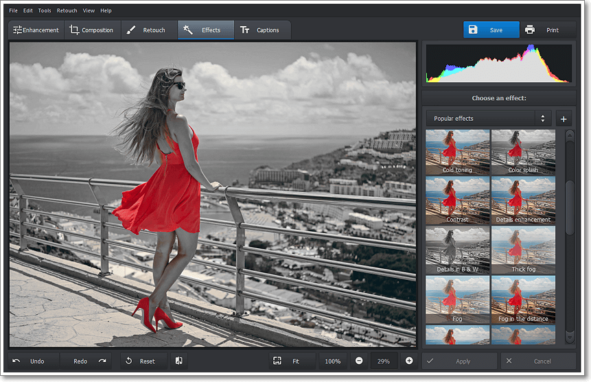 Photo Editing Software, PhotoWorks PRO Screenshot
