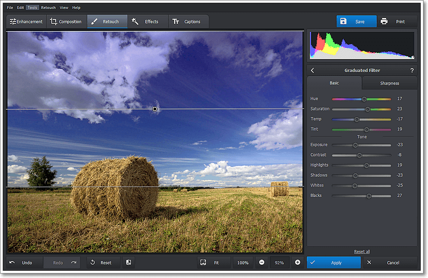 PhotoWorks PRO, Design, Photo & Graphics Software Screenshot