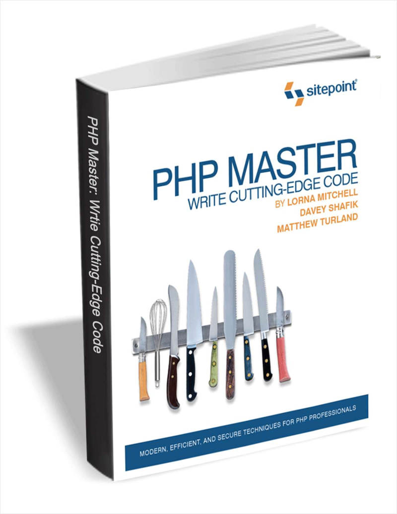 PHP Master: Write Cutting-edge Code (Free eBook!) A $30 Value Screenshot