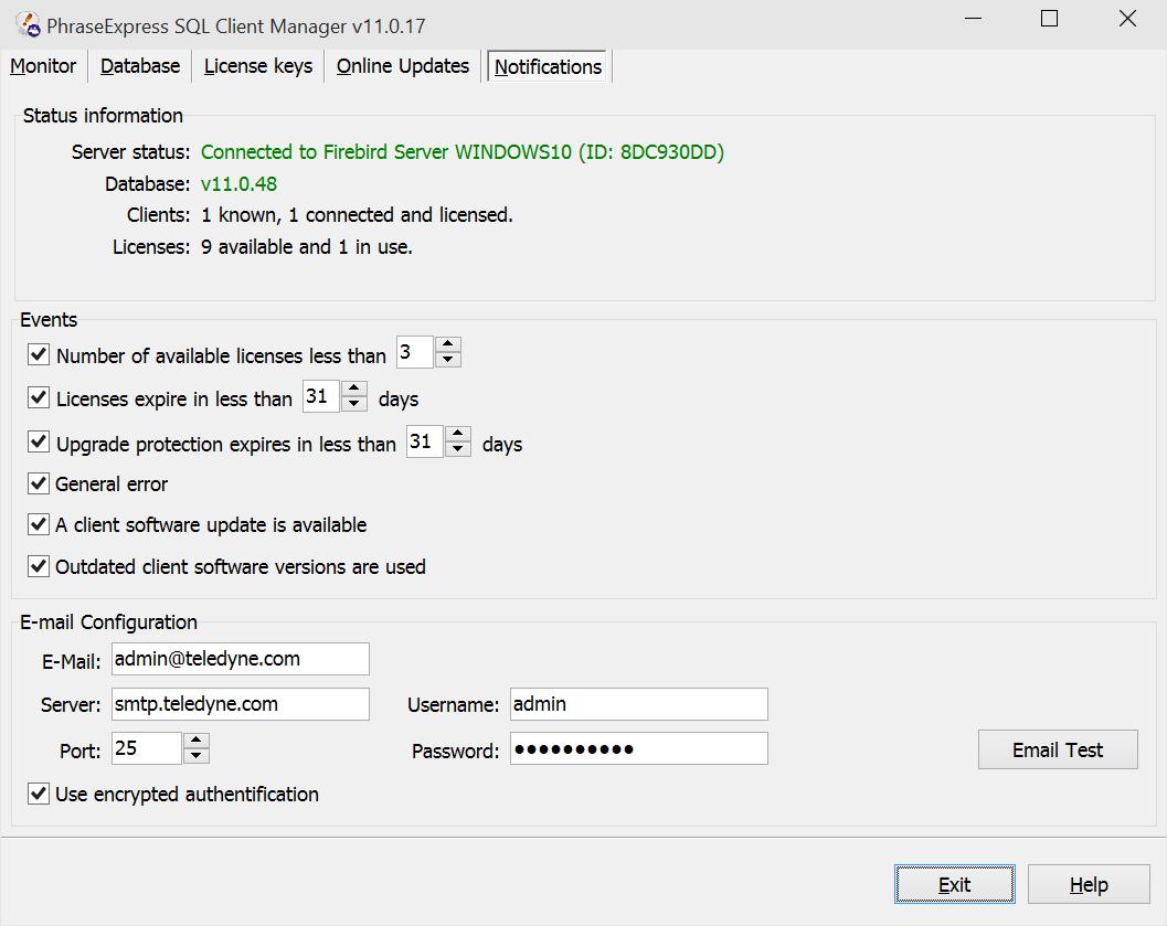 PhraseExpress Enterprise Edition, Business & Finance Software, Word Processing Software Screenshot