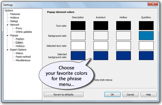 Keyboard Software, PhraseExpress v7 Easy Screenshot