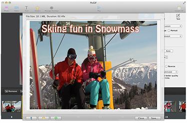 PicGIF, Design, Photo & Graphics Software Screenshot