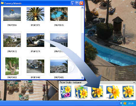PicJet Studio Screenshot