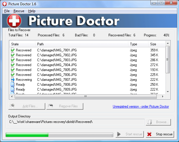 Picture Doctor Screenshot