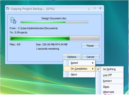 PikySuite, Files and Folders Software Screenshot