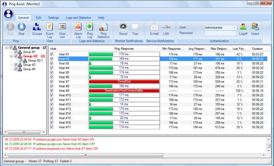 Ping Assist Pro Screenshot