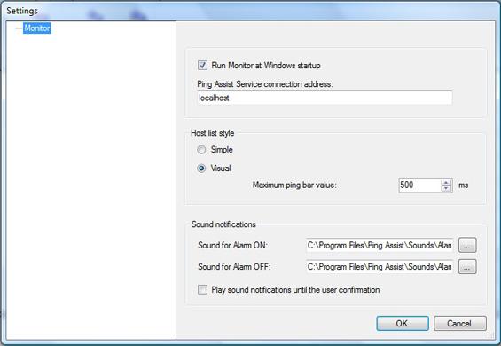 Ping Assist Pro, Internet Software Screenshot