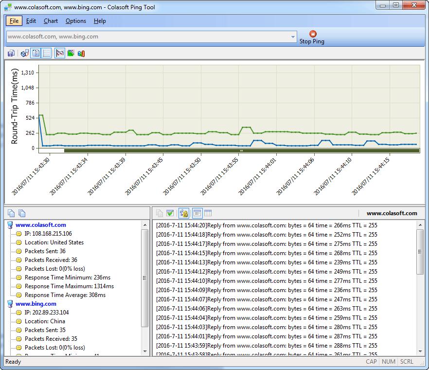 Ping Tool Pro Screenshot
