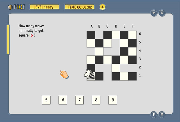 Games Software, PIQE: Chain of Puzzles Screenshot