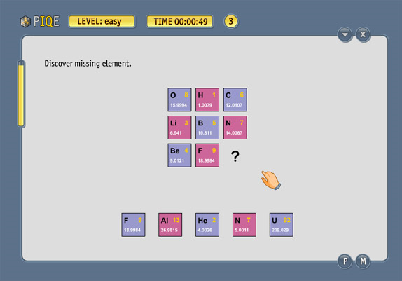 PIQE: Chain of Puzzles, Hobby, Educational & Fun Software Screenshot