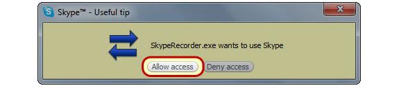 Pistonsoft Skype Recorder, Audio Software Screenshot