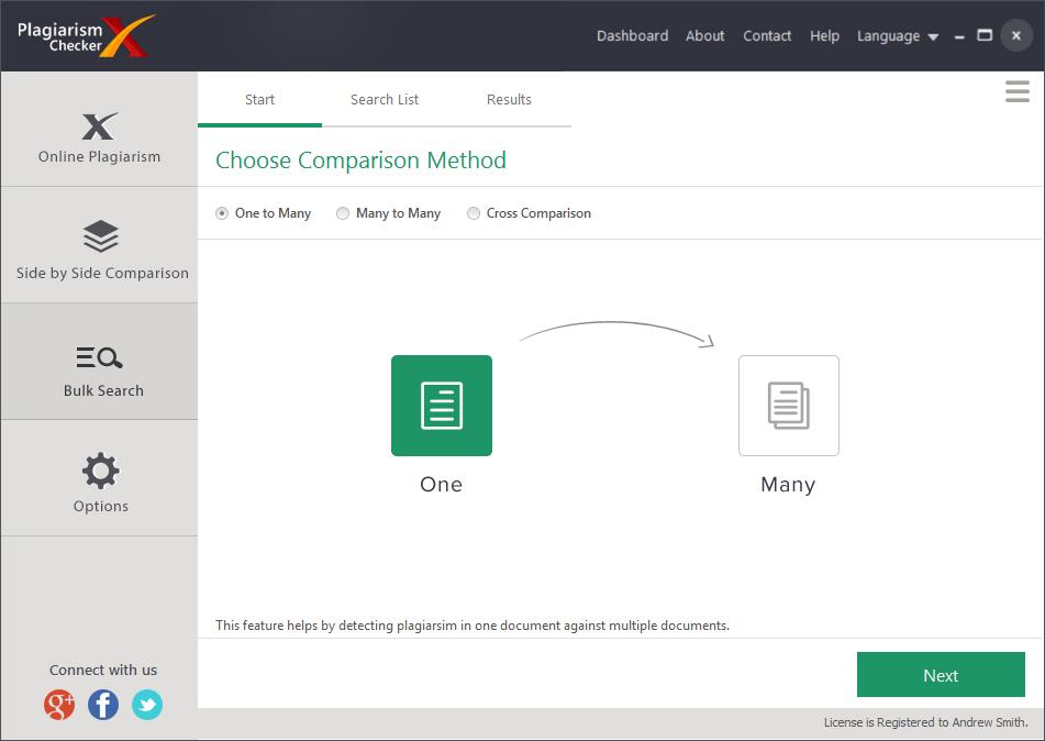 Hobby, Educational & Fun Software, Plagiarism Checker X Screenshot