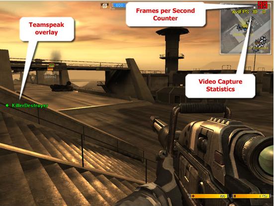 Video Software, PlayClaw Screenshot