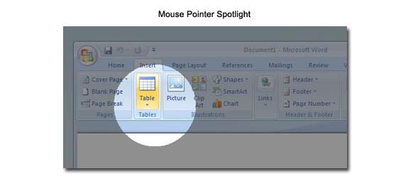 PointerFocus, Presentation Software Screenshot