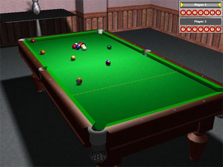 Pool 3D Training Edition, Games Software Screenshot