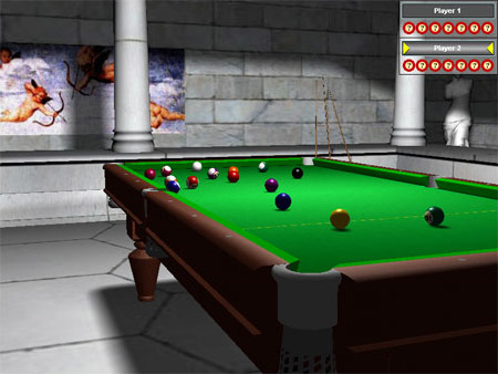 Pool 3D Training Edition, Hobby, Educational & Fun Software Screenshot