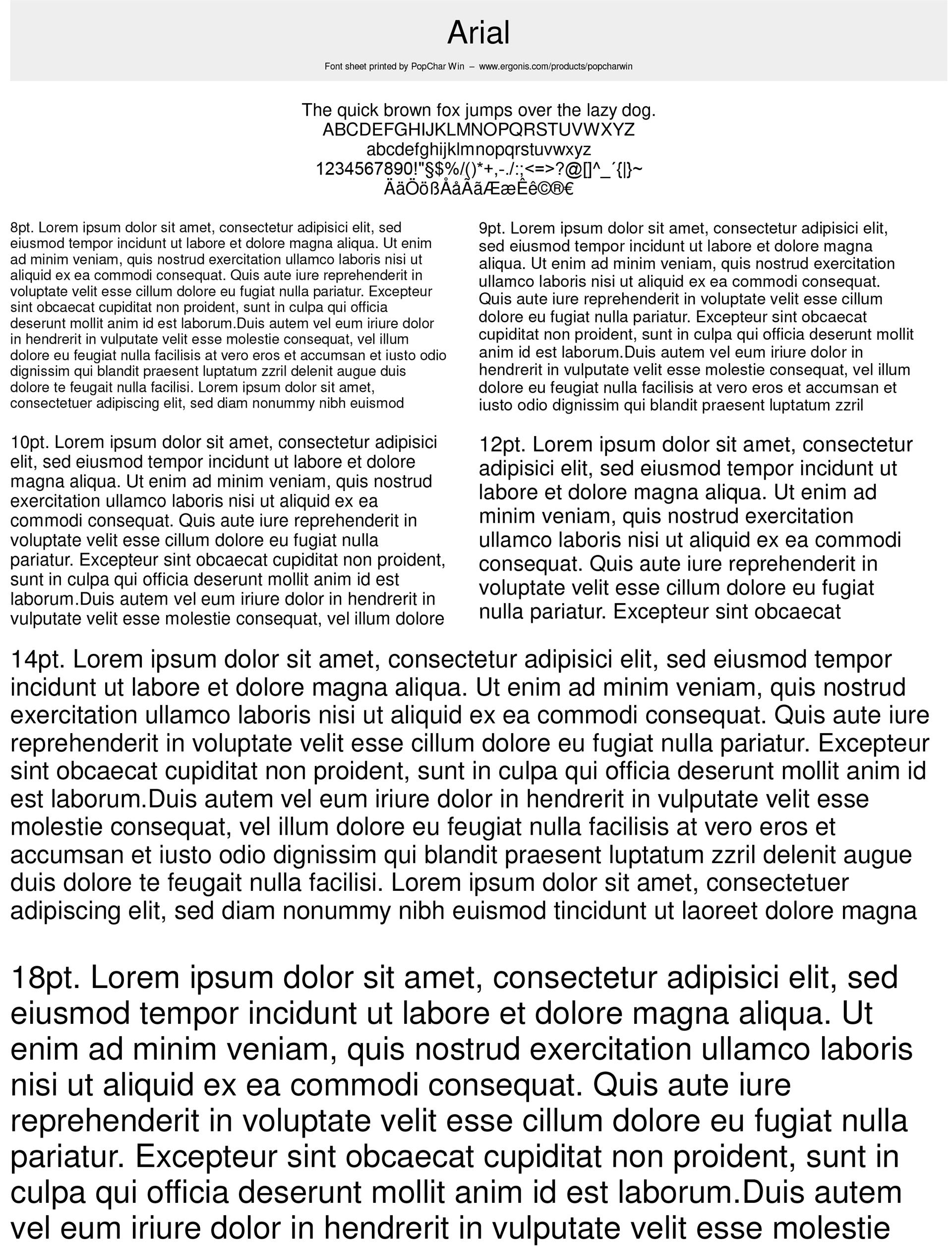 Design, Photo & Graphics Software, Fonts and Font Tools Software Screenshot