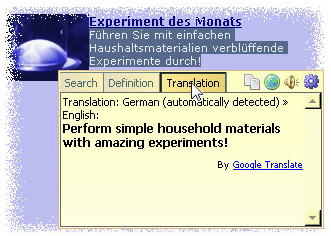 PopupHint Anywhere, Web Research Software Screenshot