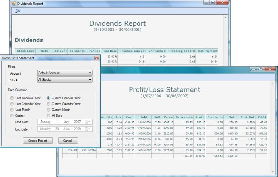 Business & Finance Software, Portfolio Manager Screenshot
