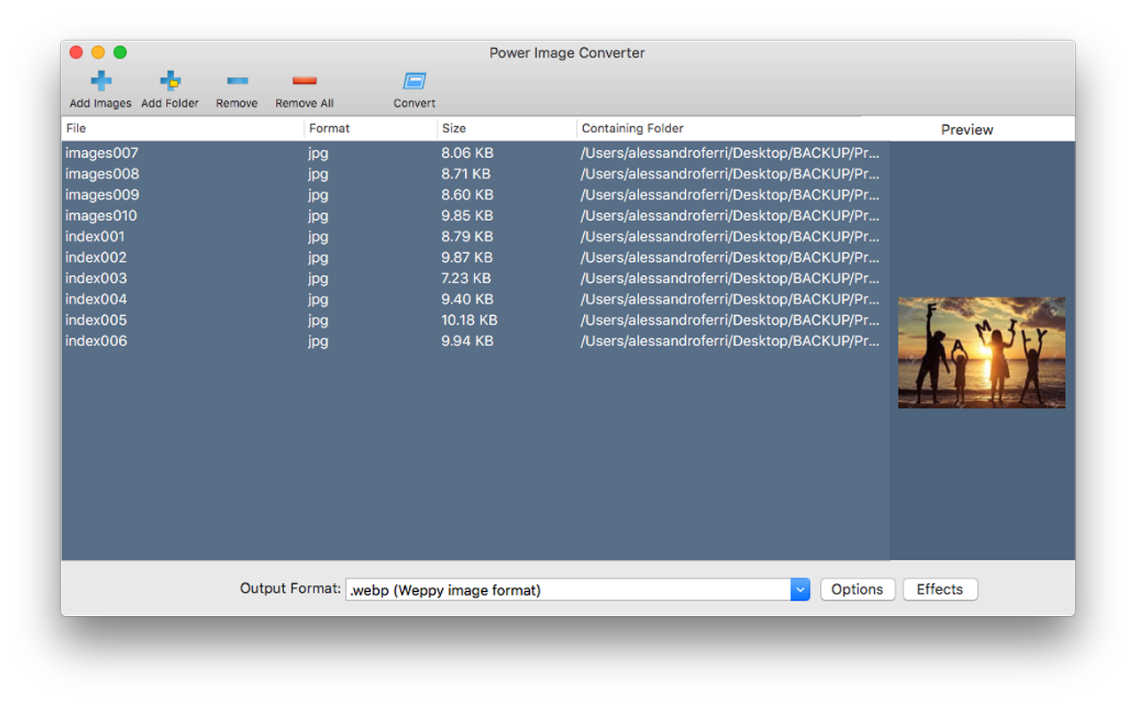 Power Image Converter Screenshot