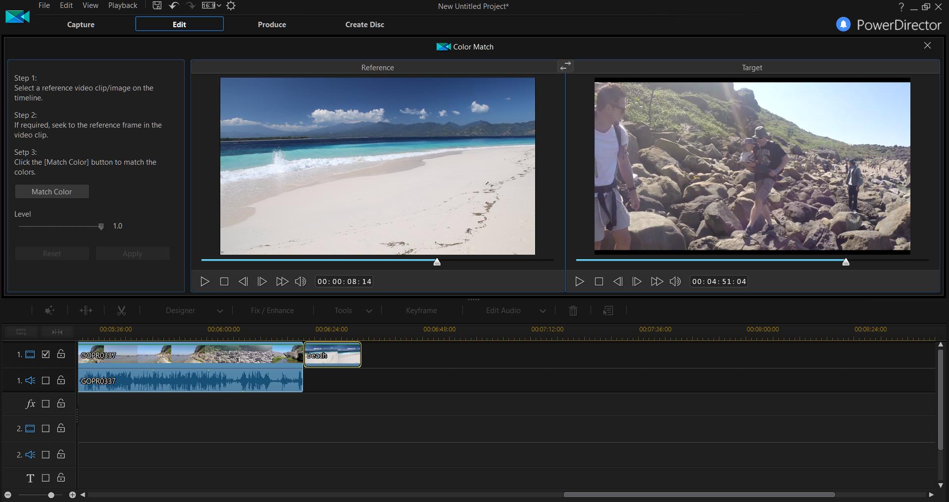 PowerDirector Ultra Screenshot